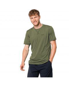 Koszulka męska CROSSTRAIL T MEN light moss