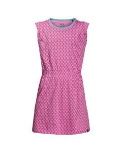Sukienka dziewczęca LILY LAGOON DRESS pink peony all over