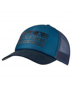 Czapka z daszkiem BRAND MESH CAP dark cobalt