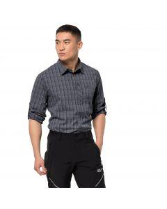 Koszula męska RAYS FLEX SHIRT M Ebony Checks