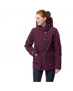 Kurtka 3IN1 DEVON ISLAND JACKET burgundy