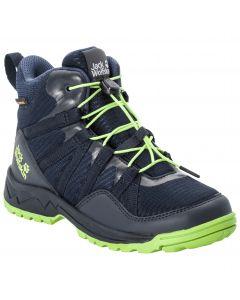 Buty trekkingowe dla dzieci THUNDERBOLT TEXAPORE MID K dark blue / lime
