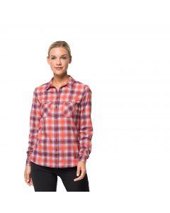 Damska koszula SARU SHIRT W violet pearl checks