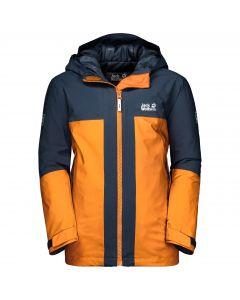 Chłopięca kurtka narciarska POWDER MOUNTAIN JACKET BOYS rusty orange