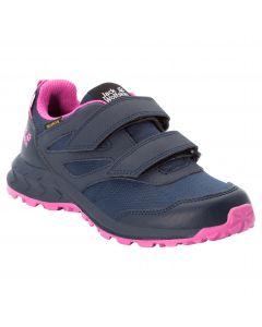 Buty dziecięce WOODLAND TEXAPORE LOW VC K Blue / Pink