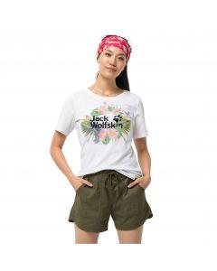 Koszulka damska PARADISE LOGO T W white rush