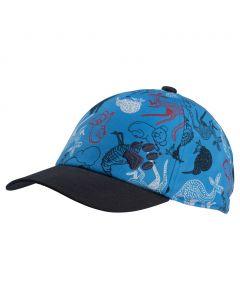 Dziecięca czapka SPLASH CAP KIDS sky blue allover