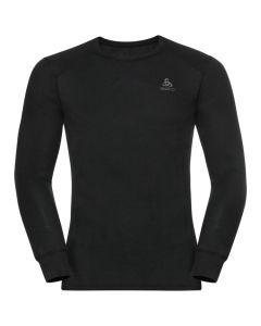 Męska koszulka termoaktywna Odlo ACTIVE WARM ECO LS Baselayer black