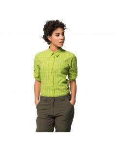 Koszula damska CENTAURA FLEX SHIRT W bright lime checks