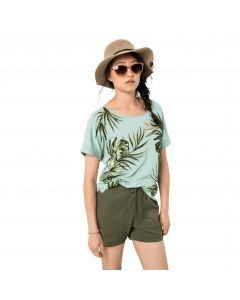 Koszulka damska TROPICAL LEAF T W light jade