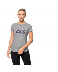T-shirt damski LOGO T W light grey