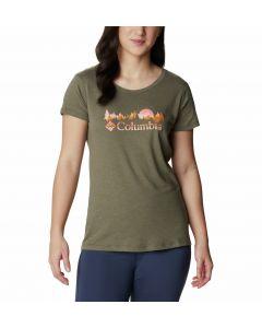 T-shirt damski Columbia Daisy Days SS Tee stone green