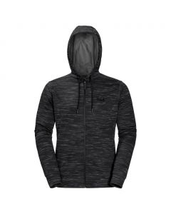 Kurtka polarowa OCEANSIDE HOODED JKT MEN black