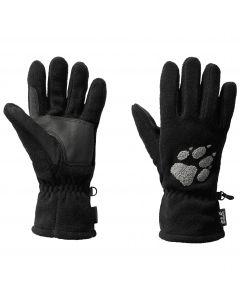 Rękawiczki polarowe PAW GLOVES black