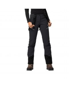 Spodnie softshell damskie GRAVITY TOUR PANTS WOMEN black