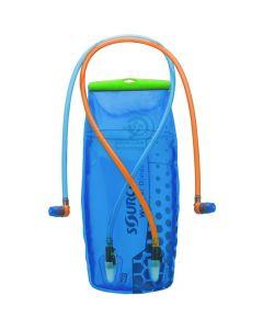 Bukłak na wodę i izotoniki SOURCE D|VIDE 3 L blue/green