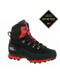 Męskie buty górskie Hanwag Alverstone II GTX black/red