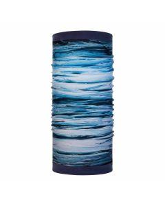 Chusta - komin Buff Polar tide blue reversible