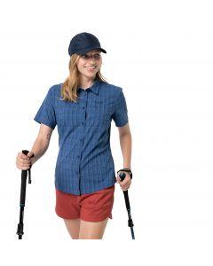 Koszula damska CENTAURA SHIRT W dark indigo checks