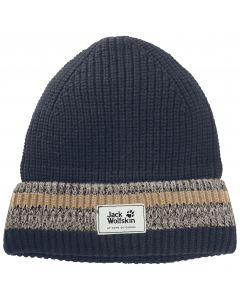 Czapka na zimę KNIT CAP night blue