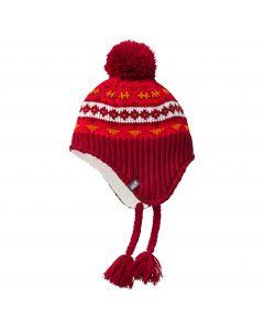 Czapka zimowa dla dzieci STORMLOCK HIMALAYA CAP K Indian Red