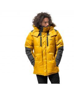 Męska parka puchowa THE COOK PARKA burly yellow XT