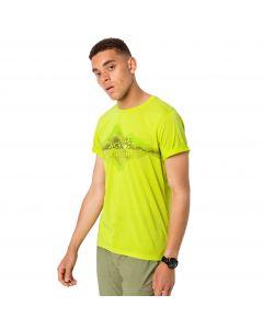 T-shirt męski CROSSTRAIL GRAPHIC T M flashing green