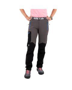 Spodnie damskie Milo VINO LADY grey/blue zips