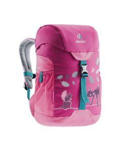 Plecak dla dziewczynki Deuter Schmusebar magenta/pink