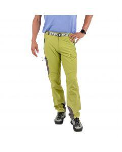 Męskie spodnie softshellowe Milo VINO mirabelle/grey