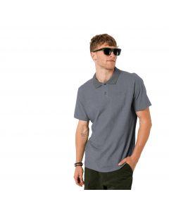 Koszulka męska PIQUE POLO MEN pebble grey