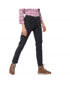 Spodnie softshellowe damskie WINTER TRAVEL PANTS WOMEN black