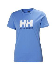 Bawełniana koszulka Helly Hansen Logo T-Shirt cornflower