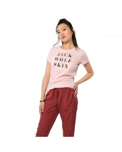 T-shirt damski FLOWER LETTER T W blush pink