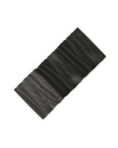 Chusta wielofunkcyjna 4Fun MULTIFUNCTIONAL SCARF 8 in 1 POLARTEC shadow black grey