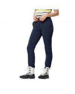 Spodnie zimowe damskie WINTER LIFESTYLE PANTS W midnight blue