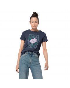 T-shirt damski HIMALAYA FLOWER T W midnight blue