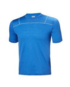 Koszulka MERINO LIGHT SS MEN olympian blue