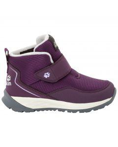 Buty zimowe dla dzieci POLAR WOLF LOW VC K purple / off-white