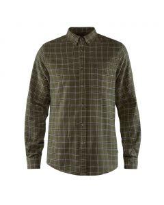 Koszula męska Fjallraven Ovik Flannel Shirt deep forest