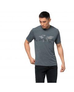 T-shirt męski JWP WORLD T M storm grey