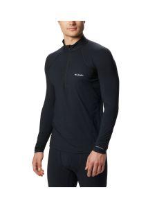 Koszulka termoaktywna Columbia Midweight Stretch LS Half Zip black