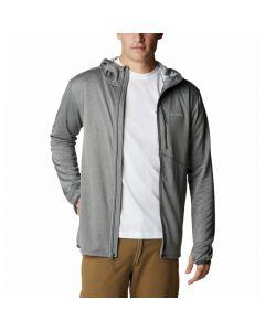 Bluza męska Columbia Park View Fleece Full Zip Hoodie city grey