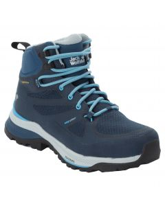 Buty w góry damskie FORCE STRIKER TEXAPORE MID W dark blue / light blue