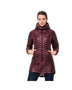 Płaszcz puchowy damski ATMOSPHERE COAT W fall red
