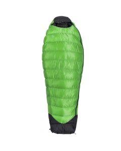 Śpiwór puchowy Aura PURE L 180 cm/350g RIGHT green
