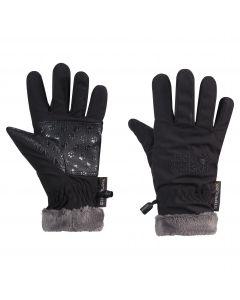 Rękawiczki dla dzieci SOFTSHELL HIGHLOFT GLOVE KIDS Black