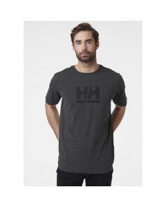 Męska koszulka Helly Hansen LOGO T-SHIRT ebony