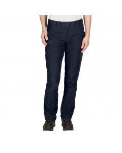 Softshellowe spodnie damskie CHILLY TRACK XT PANTS WOMEN midnight blue