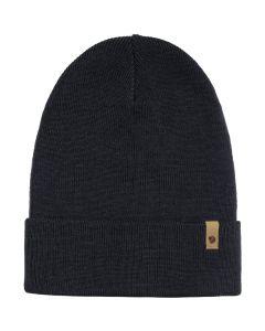 Czapka zimowa Fjallraven Classic Knit Hat dark navy